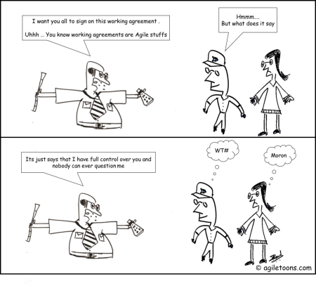 Working Agreement Archives Agiletoons